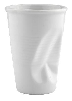 Galzone Krus 20cl hvid krøllet
