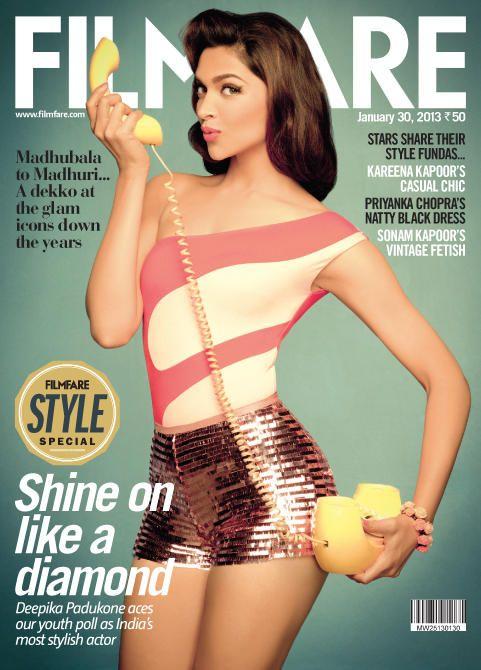 #DeepikaPadukone on the cover of Filmfare.