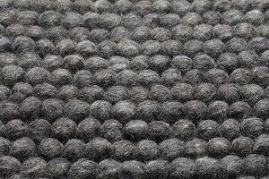 Wollteppich Cobble Grau