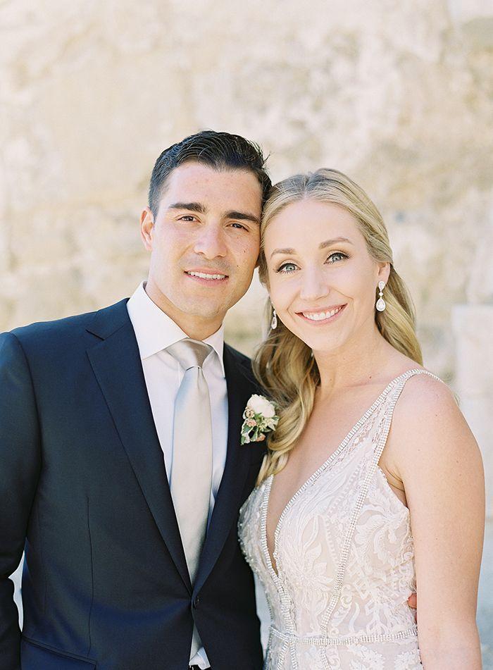 Real Couple on their Modern Glam Wedding Day  https://heyweddinglady.com/bridal-glam-meets-organic-florals-italian-inspired-wedding/      #wedding #weddings #weddinginspiration #fineartphotography #realwedding #brides #glamwedding #glam #galialahav #filmphotography #weddingday