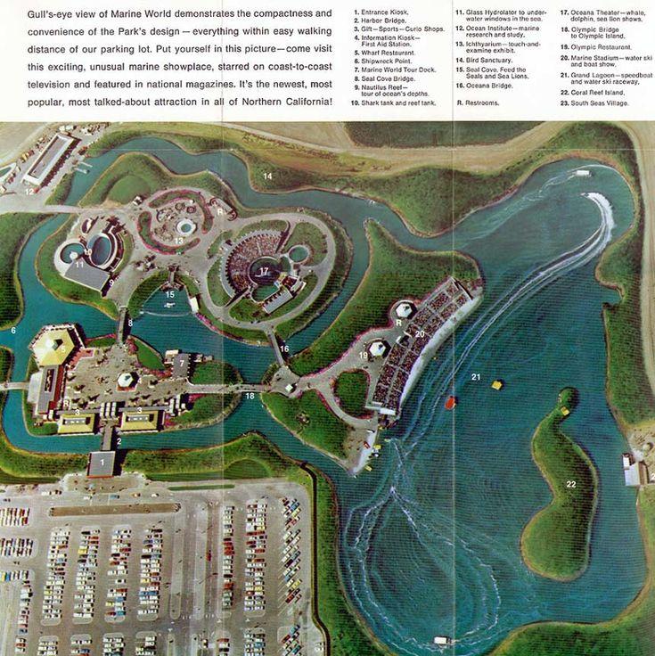 Marine World Became a Six Flags