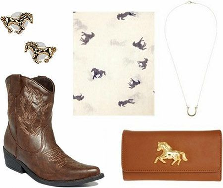 Rodeo/horse accessories inspired by The Outsiders