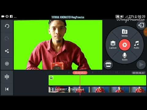 How To Make A Greenscreen Video Without Fabric Green Using Kinemaster Apk Youtube Video Kain