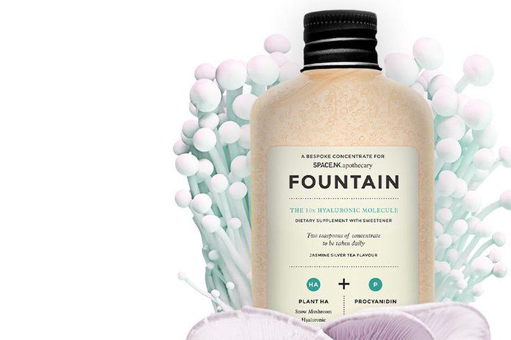 ♥ Fountain: The 10x Hyaluronic Molecule ♥ La Molécula Hialurónica x10 en Olivia The Shop ♥ #oliviatheshop #oliviasoaps #fountain #hyaluronic #beautydrinks #beauty #drink ♥
