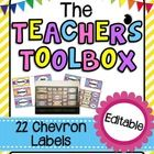 This file contains 22 Labels that you can use to create a Teacher's Toolbox. For a tutorial on how to make this Teacher's Toolbox, visit my blog:...