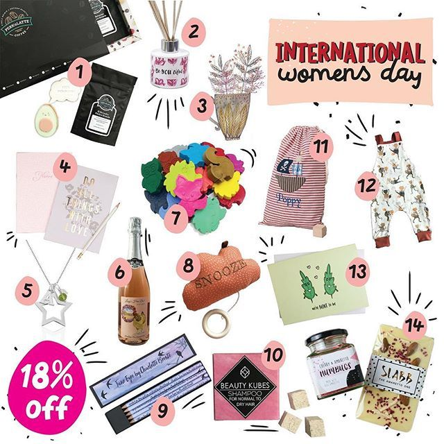Happy International Women's Day.  Myself and 13 other fabulous businesses have teamed up to offer 18% off for the next 48 hours using code 'IWD18'. This is to highlight the gender pay gap. Women on average in the UK are paid 18.4% less than their male counterparts for the SAME JOB. It's madness. This means that women effectively work for free for the first 67 days of the year and this pay gap is much much higher in some industries. Just give it a Google to find out more.  As creative…