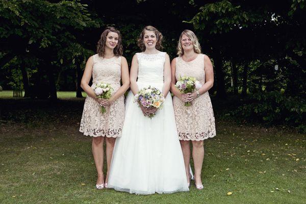 Cottage Garden Feel Cotswolds Wedding Peach Bridesmaid Dress http://www.suekwiatkowska.com/
