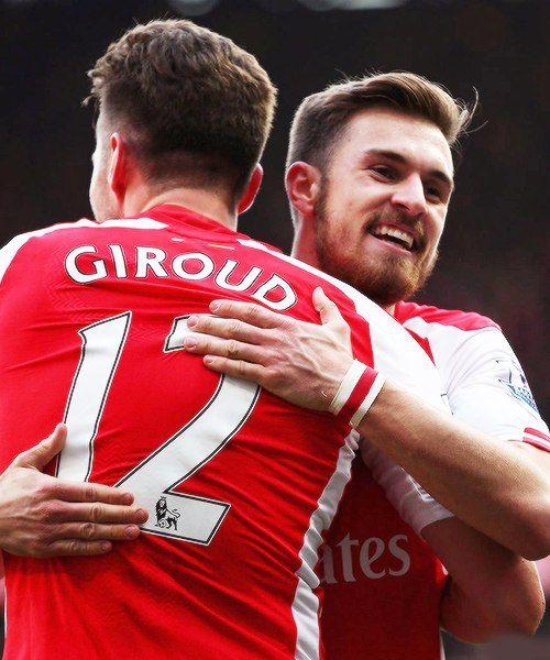 Olivier Giroud & Aaron Ramsey #Arsenal