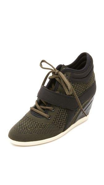 Ash Bebop Wedge Sneakers