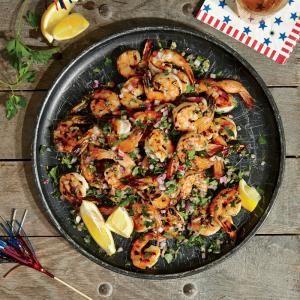 Summer Herbed Grilled Shrimp | MyRecipes.com
