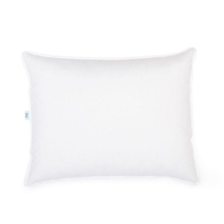 50-50 Hybrid White Goose Down Pillow