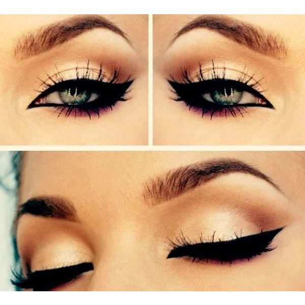 20 Amazing Eye Makeup Tutorials You cannot afford to miss ❤ liked on Polyvore featuring beauty products, makeup, eye makeup, eyes, beauty and maquiagem