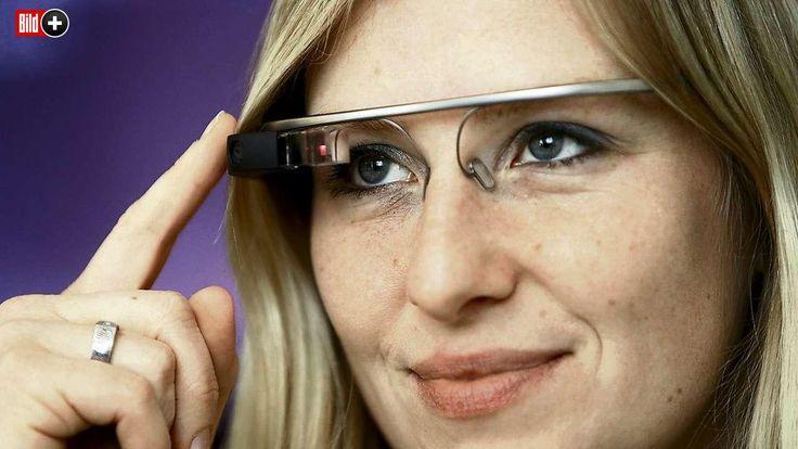 DEUTSCHE ENTWICKELTEN NEUE SOFTWARE Die Brille, die unsere Laune verrät Ein Blick genügt und die Google-Brille verrät Alter,  Geschlecht und Stimmung des Gegenübers in Echtzeit.