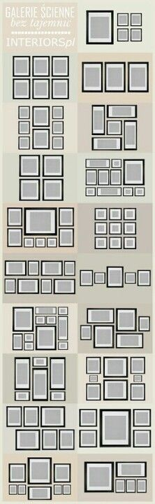 Picture arrangement ideas/options