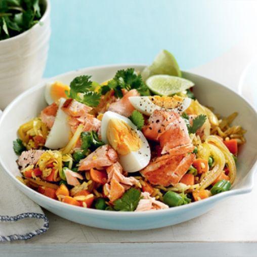 Salmon kedgeree | Healthy Food Guide