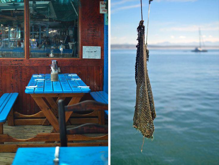 Das Sea Gypsy Cafe, Mossel Bay, Südafrika - von heneedsfood.com