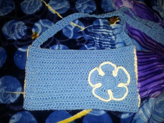Crochet small bag