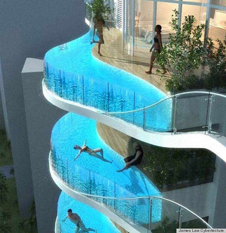 20 best piscine images on Pinterest Architecture, Outdoor pool and