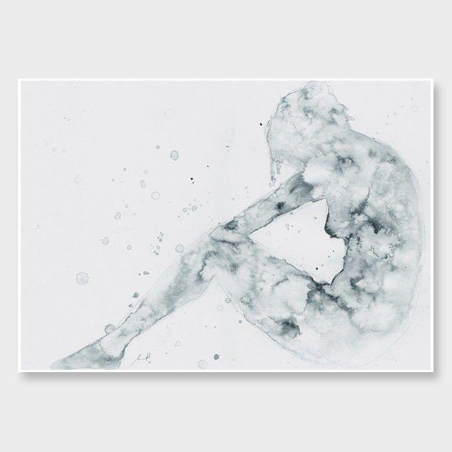 Star Nude Art Print by George Sand Studio