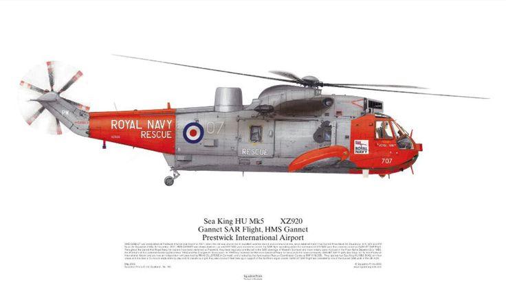 Sea King Mk5 SAR Flight Prestwick