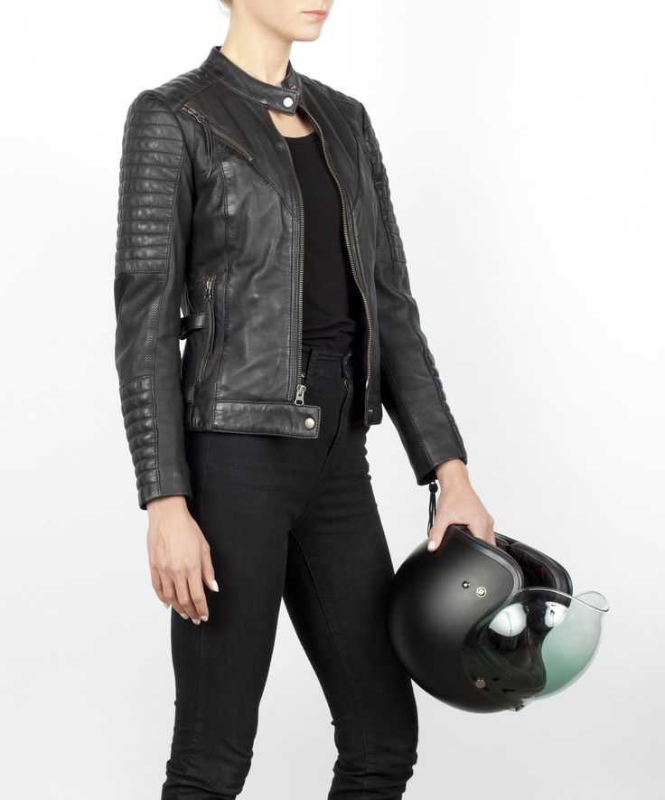 Innovative Popular Women Pencil Pants Zipper Pockets Women Leather Pants Lady Motorcycl