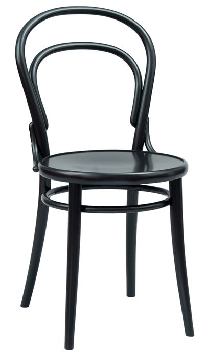 Chair 14 | TON a.s. - Chairs made by people.  Love TON, steambent chairs by Thonet brothers in Czechoslovakia since 1861.