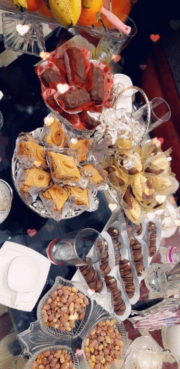 سنيوة القهوة Table Algerienne طاولة أكل جزائرية Food Food Display Instagram Food