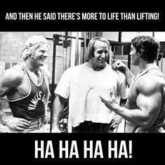 Everyone loves Arnie!