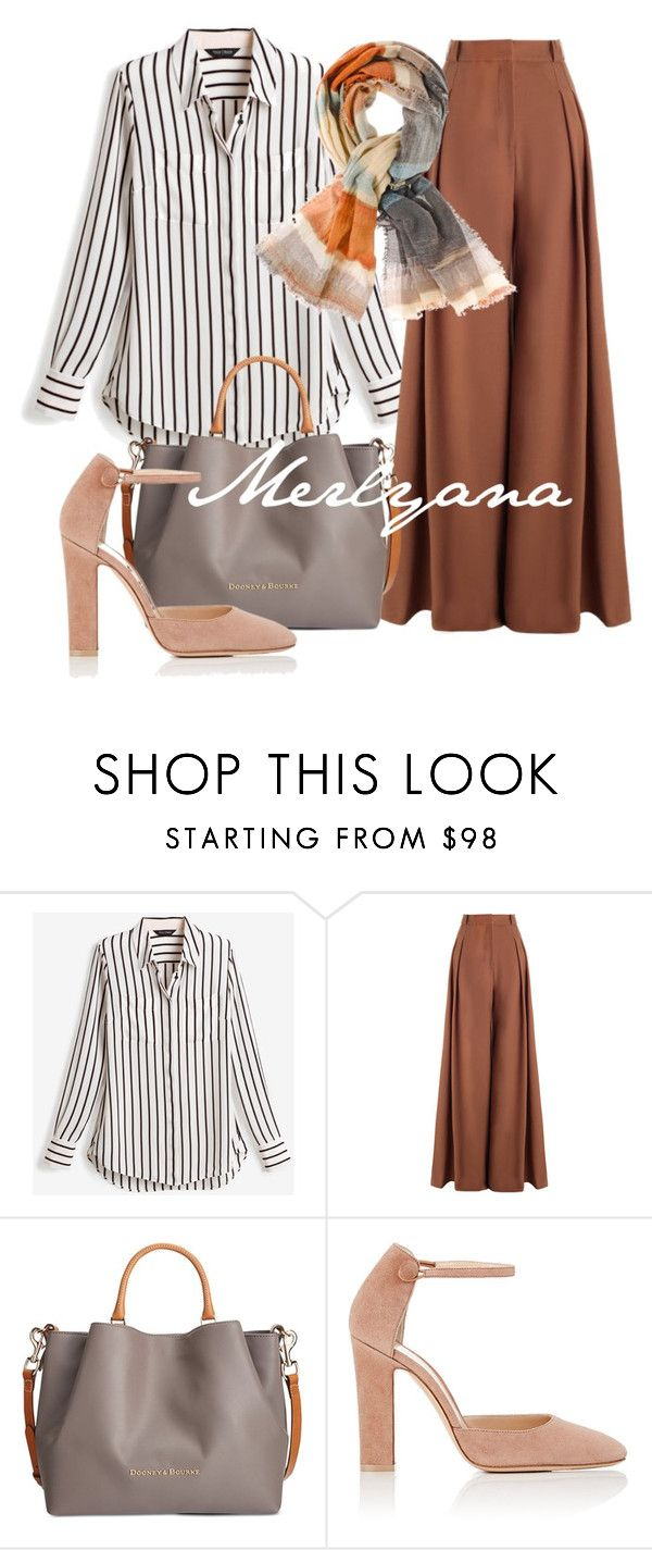"""076"" by merlyana-dwi-hapsari on Polyvore featuring White House Black Market, Zimmermann, Dooney & Bourke, Gianvito Rossi and Chico's"