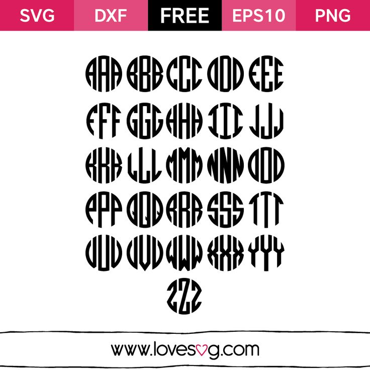 Monogram Love SVG Font Free SVG, EPS10, DXF & PNG files You can use it to your personal DIY Coffee mugs Frames Clothes Walls Bags Planners And on everythings you want What is an SVG file? SVG stands for Scalable Vector Graphic. SVG is just a fancy term for a graphic that can be used