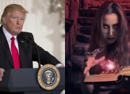 Witches around the world plan to cast a spell on Donald Trump today