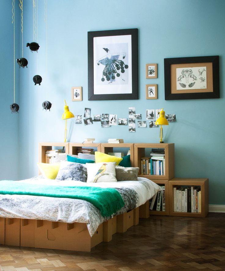 Karton: The Paperpedic Bed