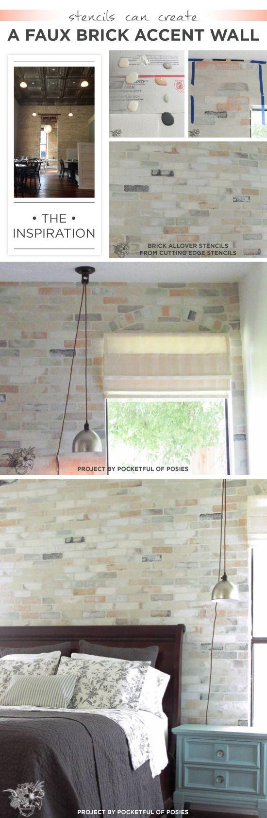 109 best stone design ideas images on pinterest brick for Faux brick edging