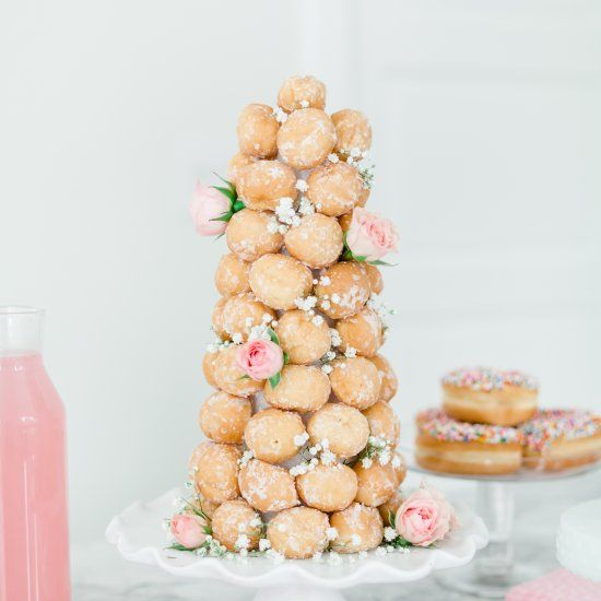 Create an easy but impressive donut hole tower with my tried and true tips!