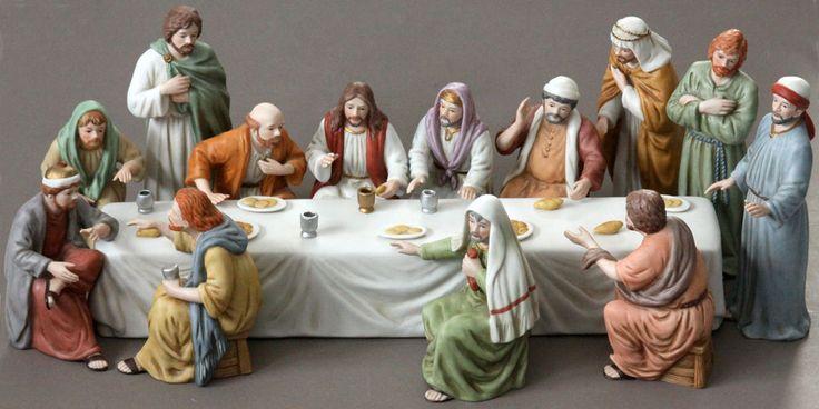 lord s last supper figurine set home interiors 12 disciple