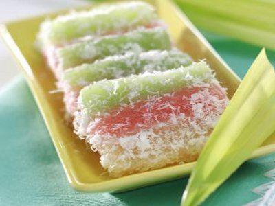 Resep Kue Lapis Singkong Cake White Fruit