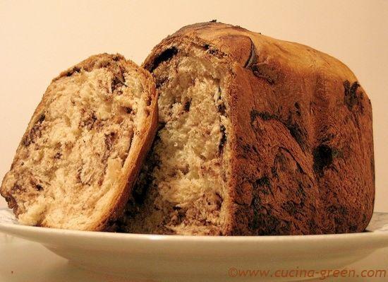Brioche al Cioccolato in Macchina del pane - CUCINA GREEN