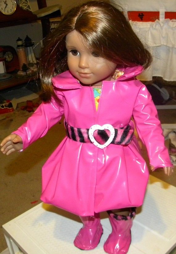 73 Best American Girl Doll Raincoats Images On Pinterest