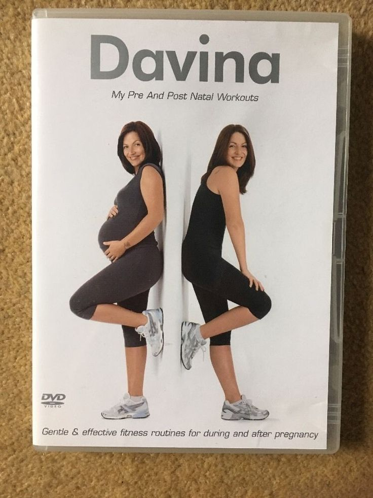 Davina - my pre and post #natal workouts (dvd, 2007) #davina mccall #pregnancy fi,  View more on the LINK: 	http://www.zeppy.io/product/gb/2/112183925559/