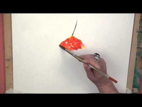 Loosening Up Your Watercolours - Joanne Boon Thomas - YouTube