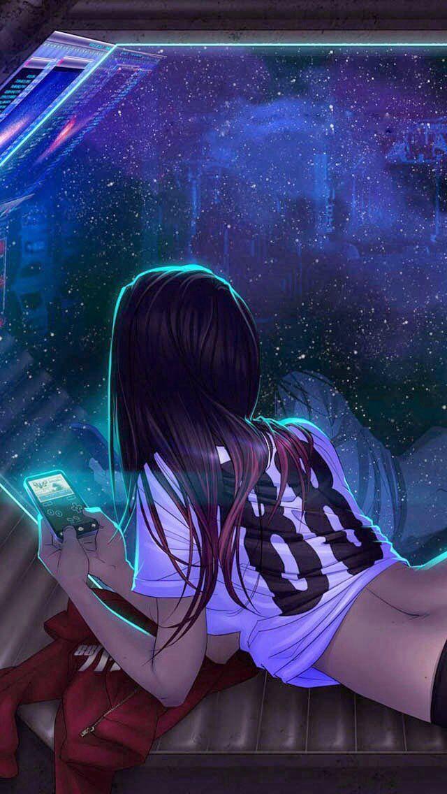 #Cyberpunk, Futuristic Girl, Shadowrun