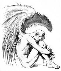 Image result for male fallen angel tattoo
