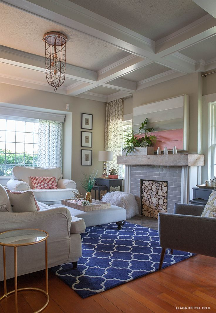 Best Coral Living Room Update For Summer Cobalt Blue 400 x 300