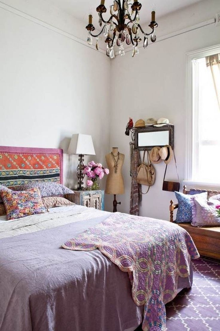 Boho Bedroom Decorating Ideas For Women New House Pinterest And