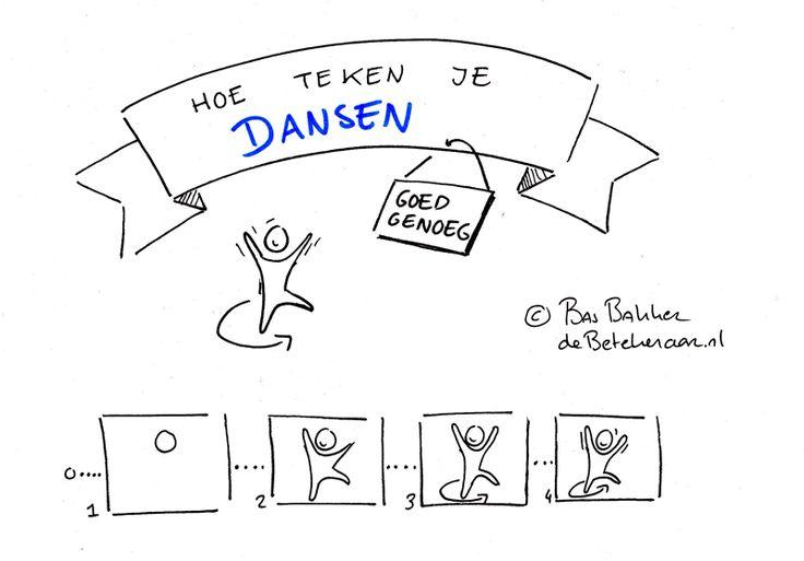 Hoe teken je dansen? - de Betekenaar | Visual Recording -