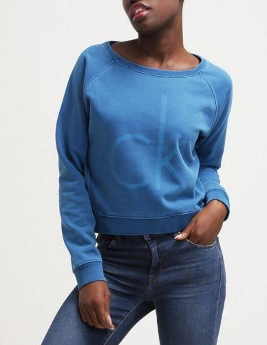 Calvin Klein Jeans JUISA Niebieska Bluza blue
