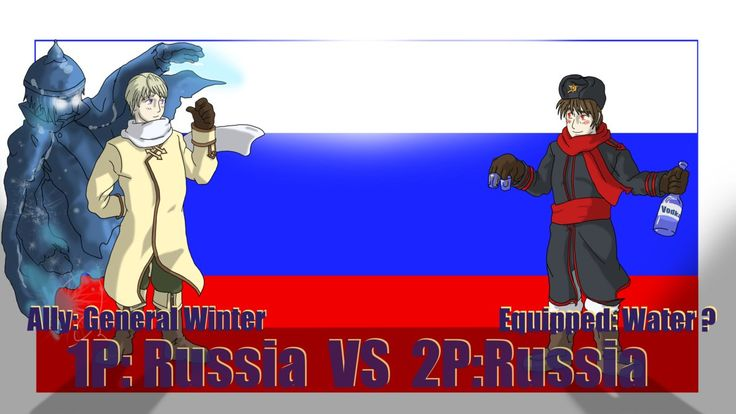 Fight: Russia vs Russia by Sagealina.deviantart.com on @DeviantArt