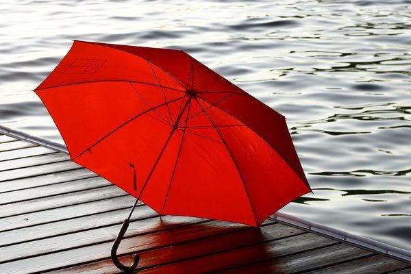 Red Umbrella. by kbeams.deviantart.com on @deviantART