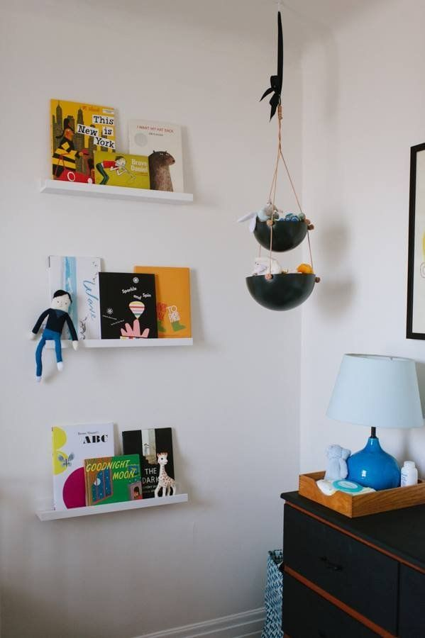 A Minimalist Meets Multicolored Nursery My Room.  LOVE the pops of color! :)