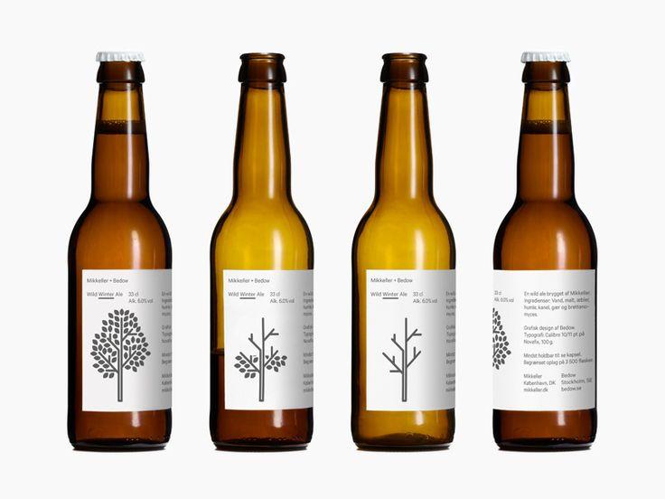 Wild Winter Ale nasce nel 2012 dalla collaborazione tra il brand danese di birra Mikkeller e lo studio Bedow. La quarta serie di birre stagionali, riconoscibili anche nell'etichetta. http://www.bedow.se/work/packaging-mikkeller-bedow-winter/